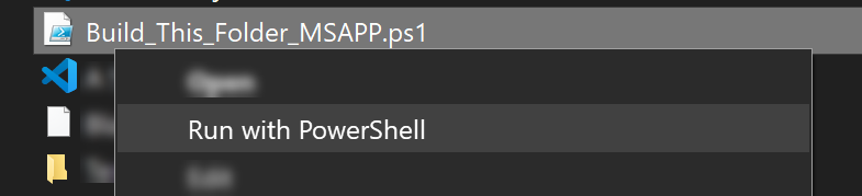 Converting a Landscape Power App to Portrait - running the PowerShell script